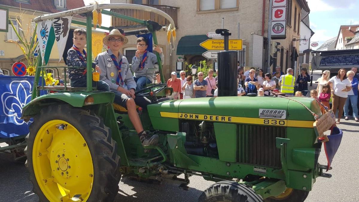 Holzmarkt 2018 Traktor